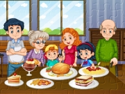 Family Dinner Jigsaw