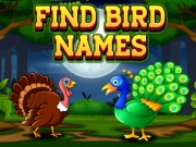 Find Birds Names