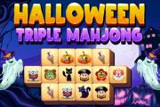 Halloween Triple Mahjong