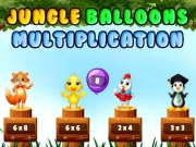 Jungle Balloons Multiplication