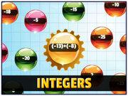 Orbiting Numbers Integers