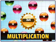 Orbiting Numbers Multiplication