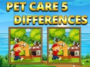 Pet Care-5 Differences