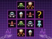 Robots Cards Match